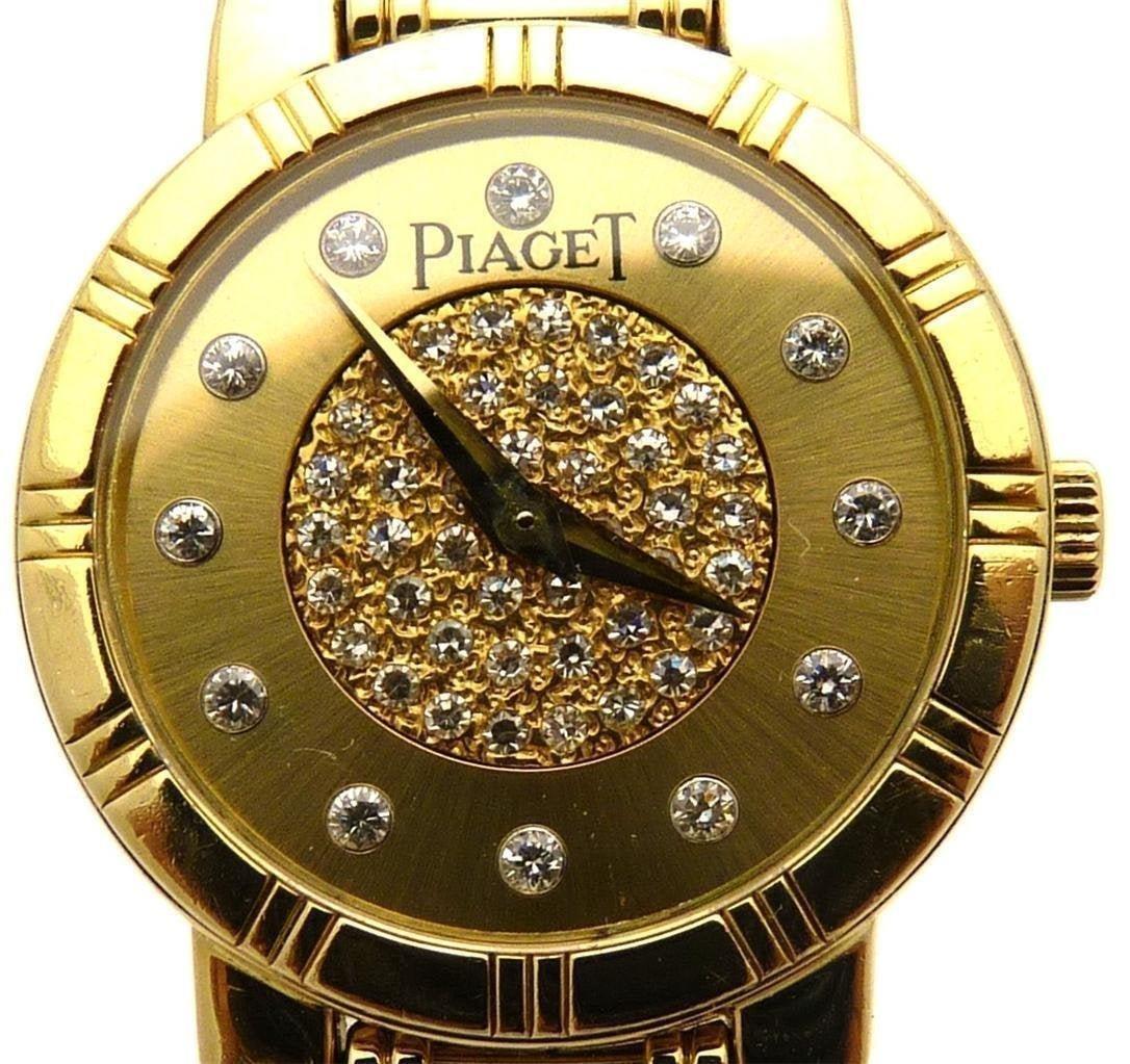 Piaget Dancer 18K Gold and Diamonds Watch