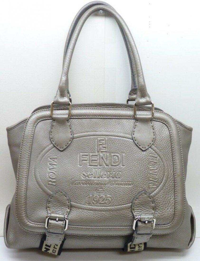 FENDI Selleria Lavorazione a mano Leather Bag