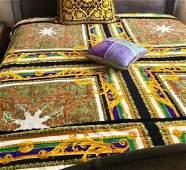 Gianni Versace Velvet KING size Bed Sofa Cover