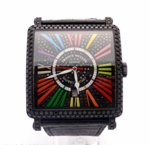 Franck Muller King Master 18K Gold Diamond Watch