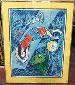 Marc Chagall RussianFrench 18871985 Lithograph