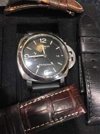Luminor Panerai GMT Stainless Steel Men's Watch
