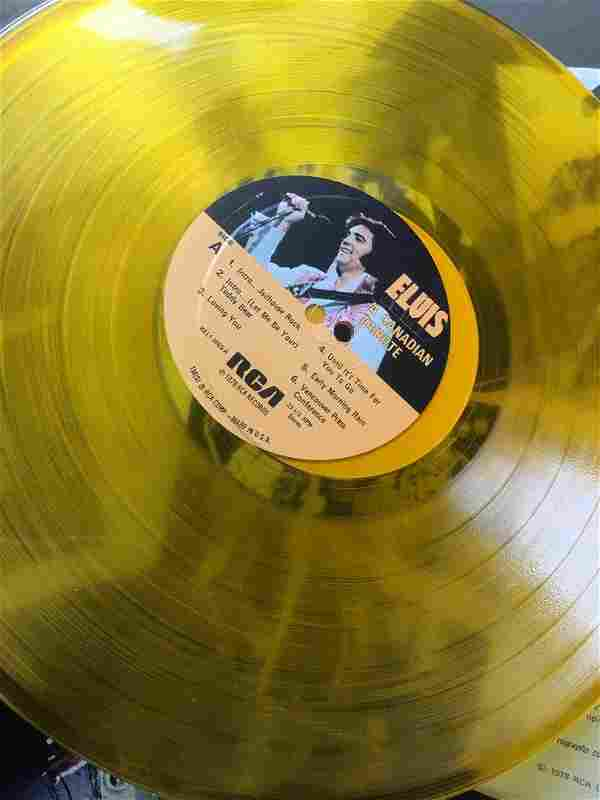 Lot of 6 Rare Elvis Presley Vinyl Records LPs Original