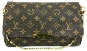 Louis Vuitton Favorite MM Monogram Crossbody Clutch Bag