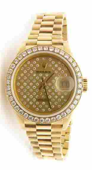 ROLEX Oyster Perpetual Datejust Pleiade President Watch