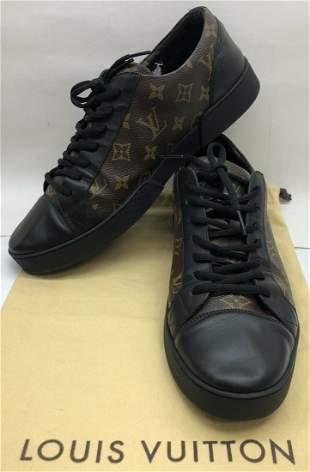 Louis Vuitton Mens Eclipse Sneakers Monogram Shoes
