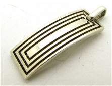 Tiffany & Co Sterling Silver Tag Pendant