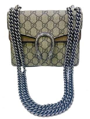 Gucci Dionysus Monogram Mini Hibiscus Brown Supreme Bag