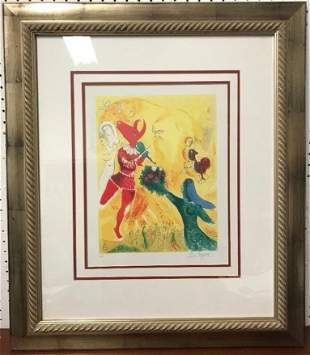 Marc Chagall (Russian-French, 1887 - 1985) Lithograph