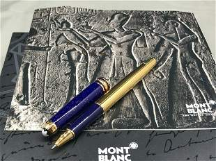MONTBLANC MEISTERSTUCK RAMSES II Lapis Vermiel Pen