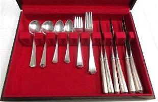 Gorham Fairfax Sterling Silver Silverware Service Set