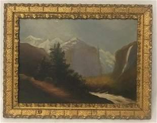 JOHN FREDERICK KENSETT (American, 1816-1872) Style Oil