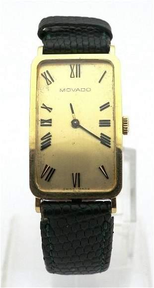 Vintage 14K Yellow Gold Movado Ladies Watch