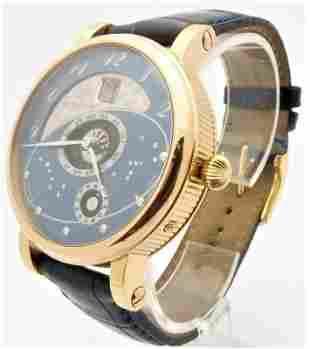Martin Braun 18K Gold Astronomical Calendar Watch Mens