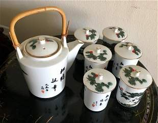 Porcelain TEA Set TATUNG Taiwan