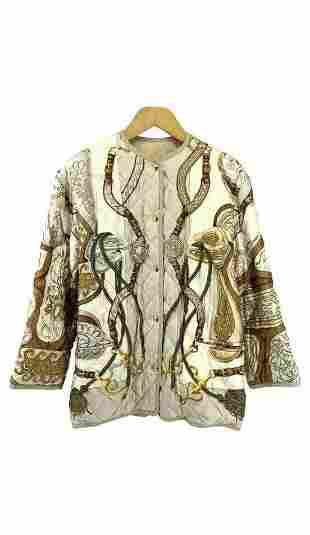 ELEGANT HERMES jacket size 36 made in France