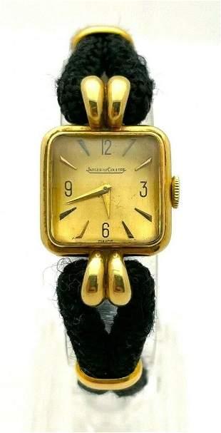 Vintage Jaeger LeCoultre 18 k Gold Ladies Watch
