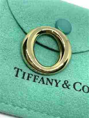 Tiffany & Co Elsa Peretti 18k Gold Sevillana Pendant