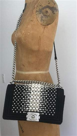 CHANEL Boy with Pearls Limited Edition Bag