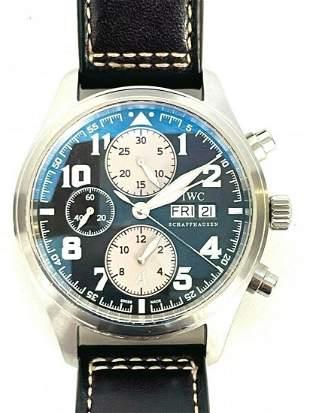 IWC Saint Exupery Pilot Automatic Chronograph Watch