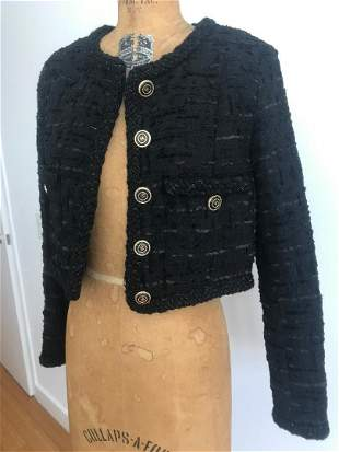 Hard To Find CHANEL 2021 Collection Little Black Jacket