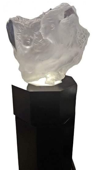 Michael Wilkinson b.1954 Acrylic Sculpture Dream 1990