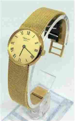 Chopard 18k Gold 23mm Self Winding Ladies Watch