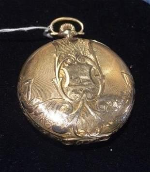 Antique Waltham 14K Gold Pocket Watch