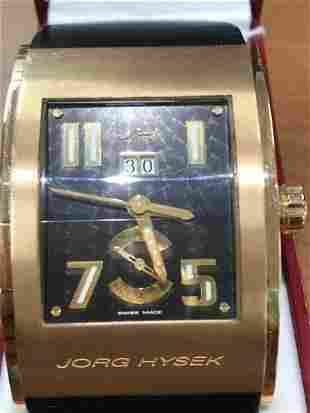 Jorg Hysek RARE 18K Rose Gold Limited Edition Men Watch