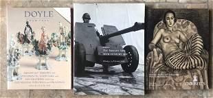 Lot of 3 Christie catalogs