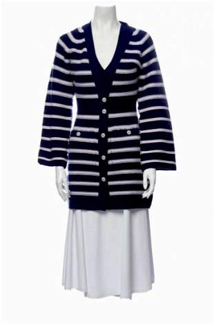 NEW CHANEL Ready To Wear 2015 Cashmere Sweater