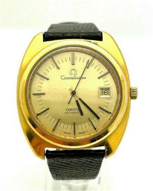 Vintage Omega Constellation Cal 1012 Automatic Watch