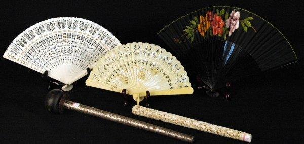 6: Antique Fans and Parasol Handles