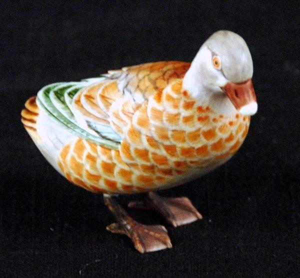 16: Chinese Ivory Polycrhomed Mandarin Duck