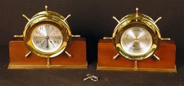 161: Seth Thomas Ships Clock and Barometer