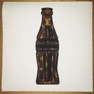 Louis Vuitton LV Coke Soda Bottle Mr Clever Art Print