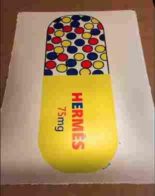 Mr Clever Art Hermes Luxury 75mg Yellow Pill Metallic