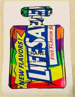 Mr Clever Art Chanel No 5 Five Flavors Parfum Print