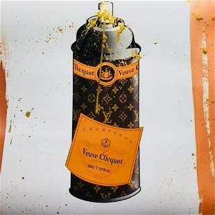 Louis Vuitton Brut Spray Paint Can Mr Clever Art