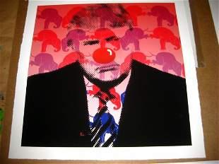 MR CLEVER A Triumphant Clown AntiTrump Limited AP