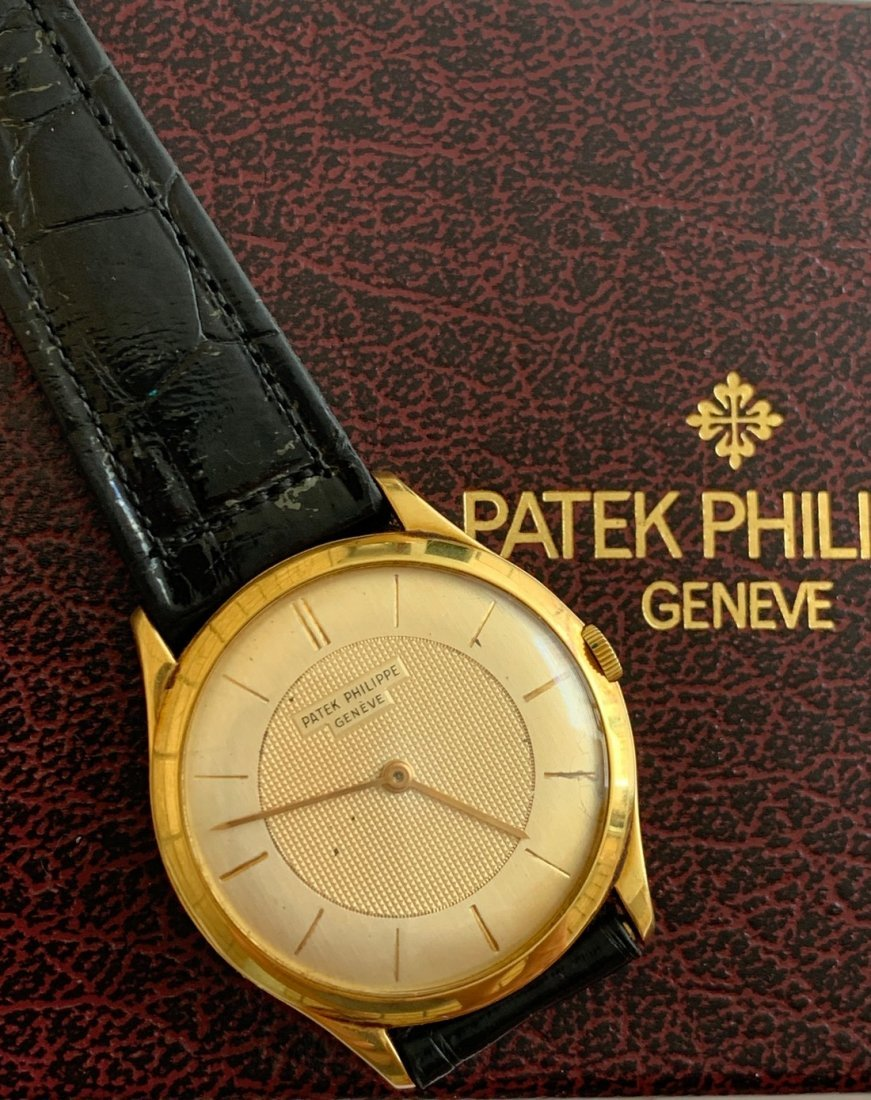 Patek Phillippe  Calatrava 18 kt Yellow Gold Ref;2507j