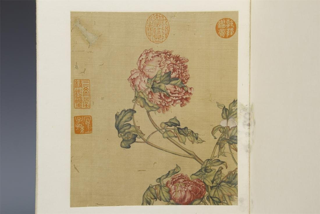 A Chinese  Scroll Painting  Signed by Langshining - 2