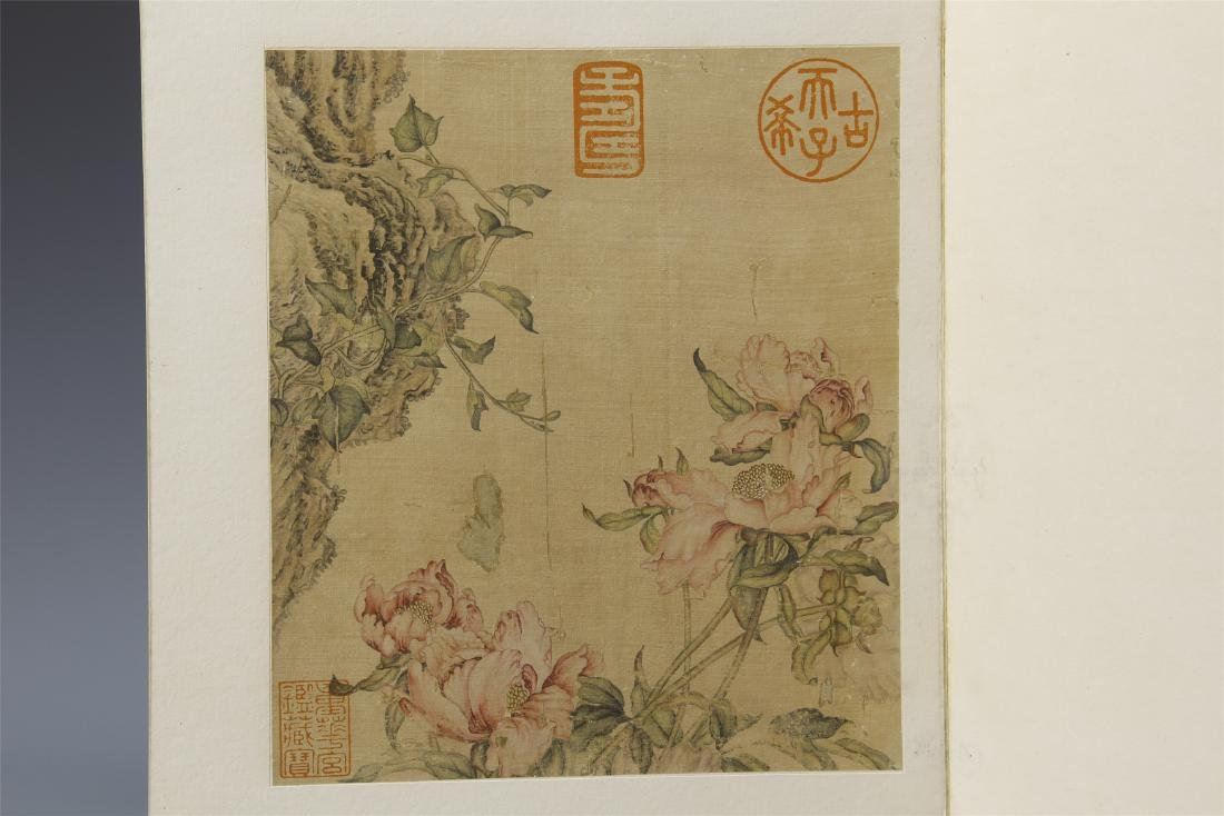 A Chinese  Scroll Painting  Signed by Langshining - 4