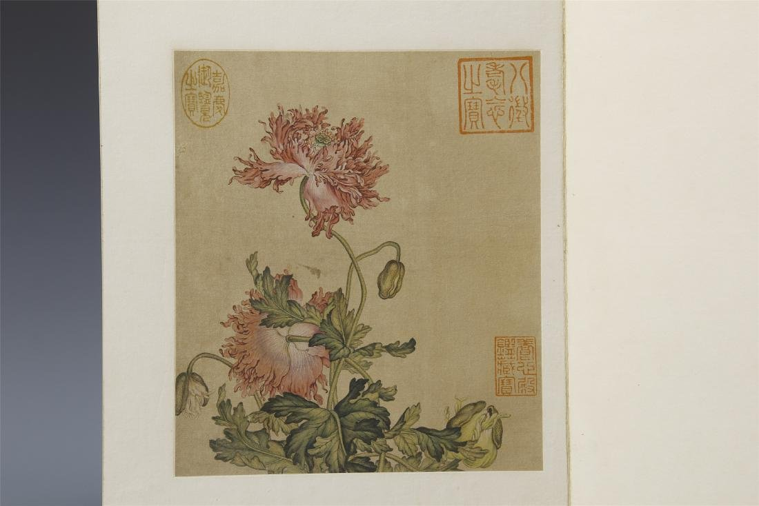 A Chinese  Scroll Painting  Signed by Langshining - 5