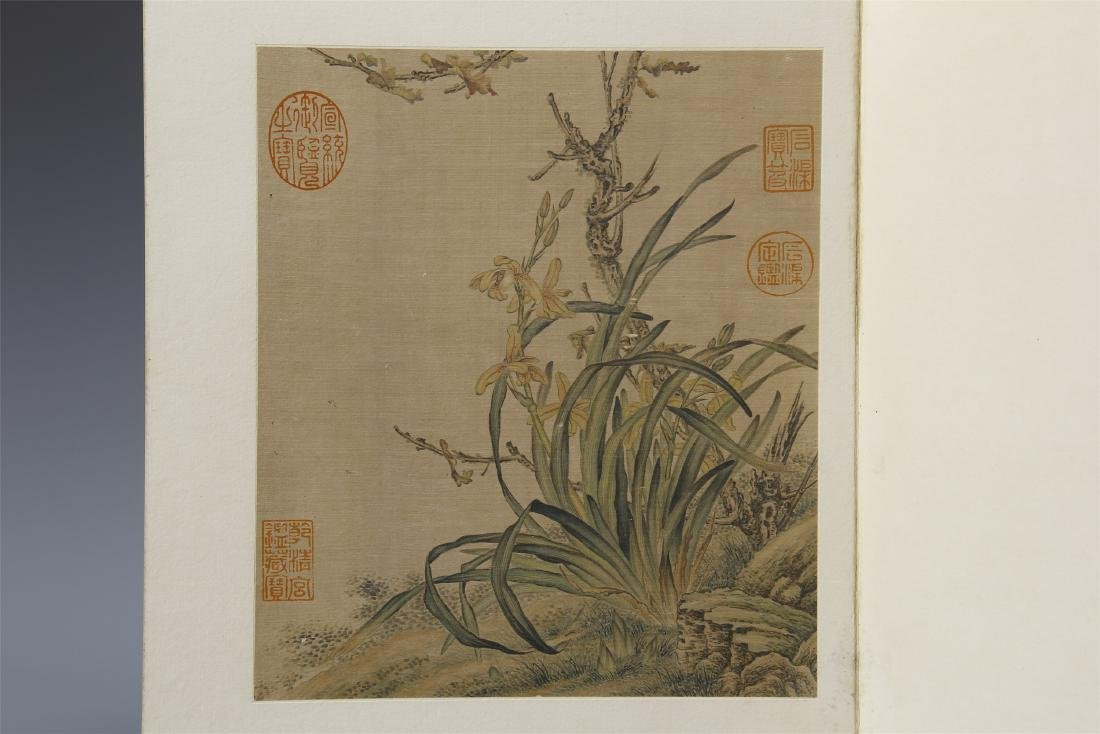 A Chinese  Scroll Painting  Signed by Langshining - 6