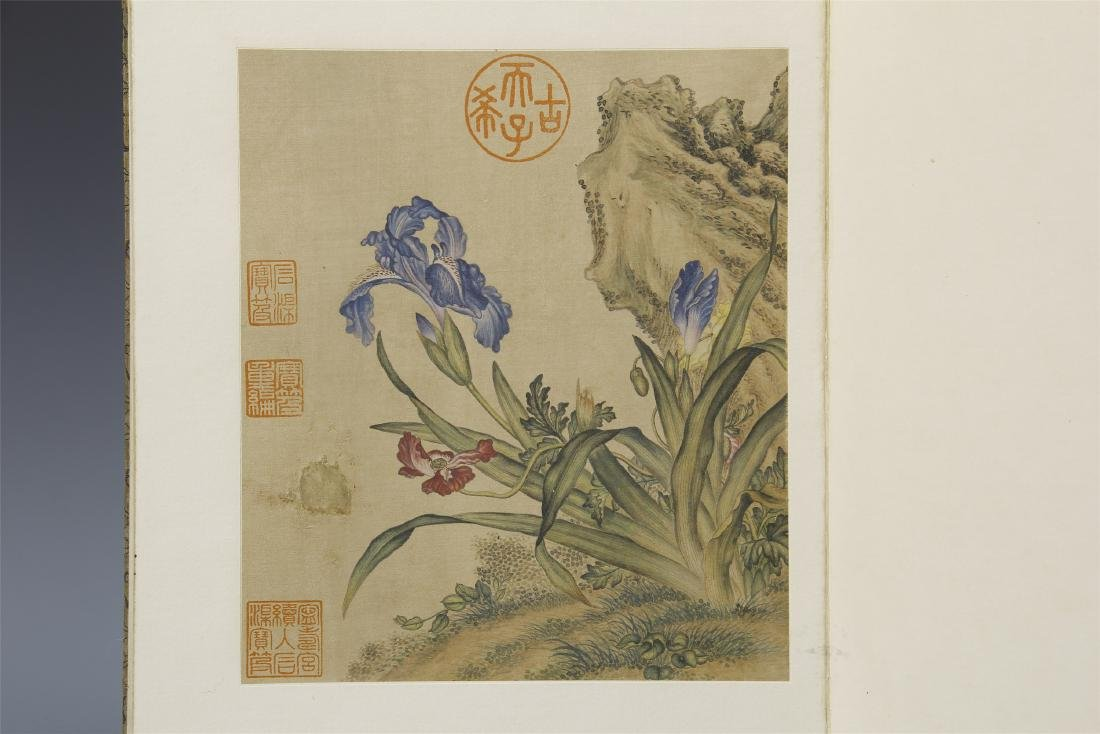 A Chinese  Scroll Painting  Signed by Langshining - 8