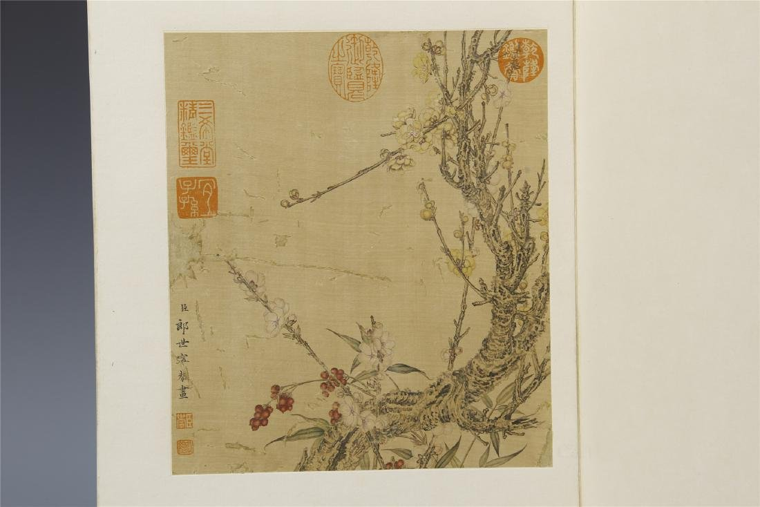 A Chinese  Scroll Painting  Signed by Langshining - 9