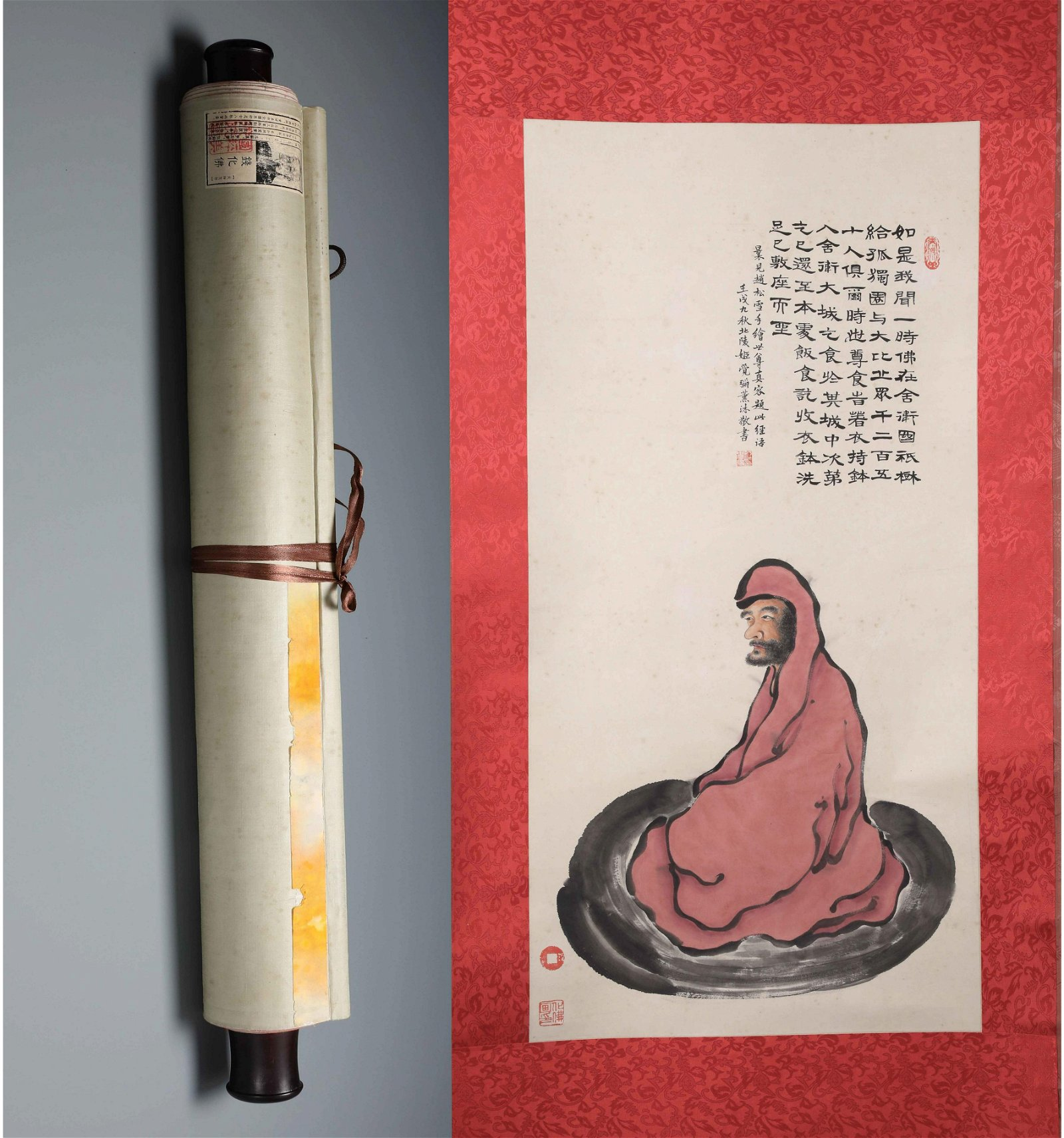 Chinese  Hand-drawn Painting  Signed by Qian huafo
