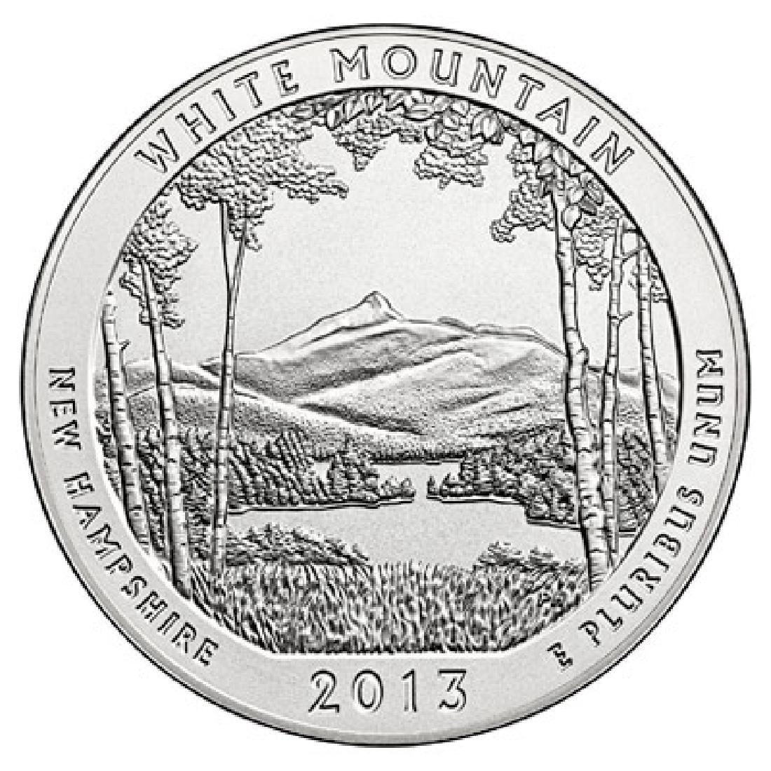2013 Silver 5oz. White Mountain ATB