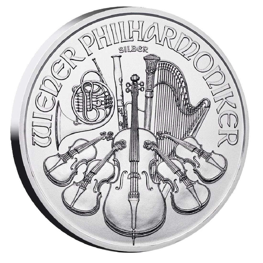 Austrian Philharmonic Silver One Ounce (Dates of our Ch